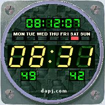 Aircraft Dashboard Chronometer